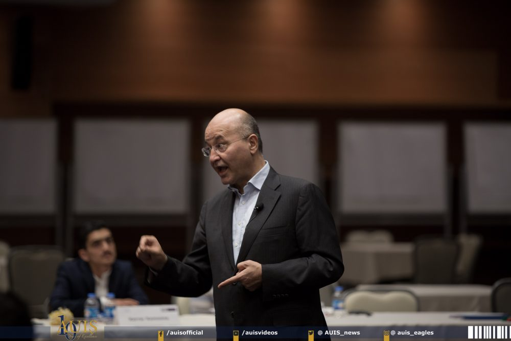 الورشة الثانية من زمالة قادة العراق 2017-2018 تشهد حضور الدكتور برهم صالح