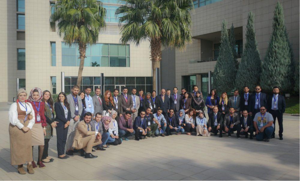 التدريب الأول لزمالة قادة العراق 2018-2019 والمشاركة في ملتقى MERI