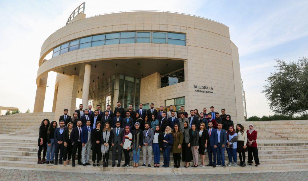 اختتام سلسلة تدريبات زمالة قادة العراق 2019-2020