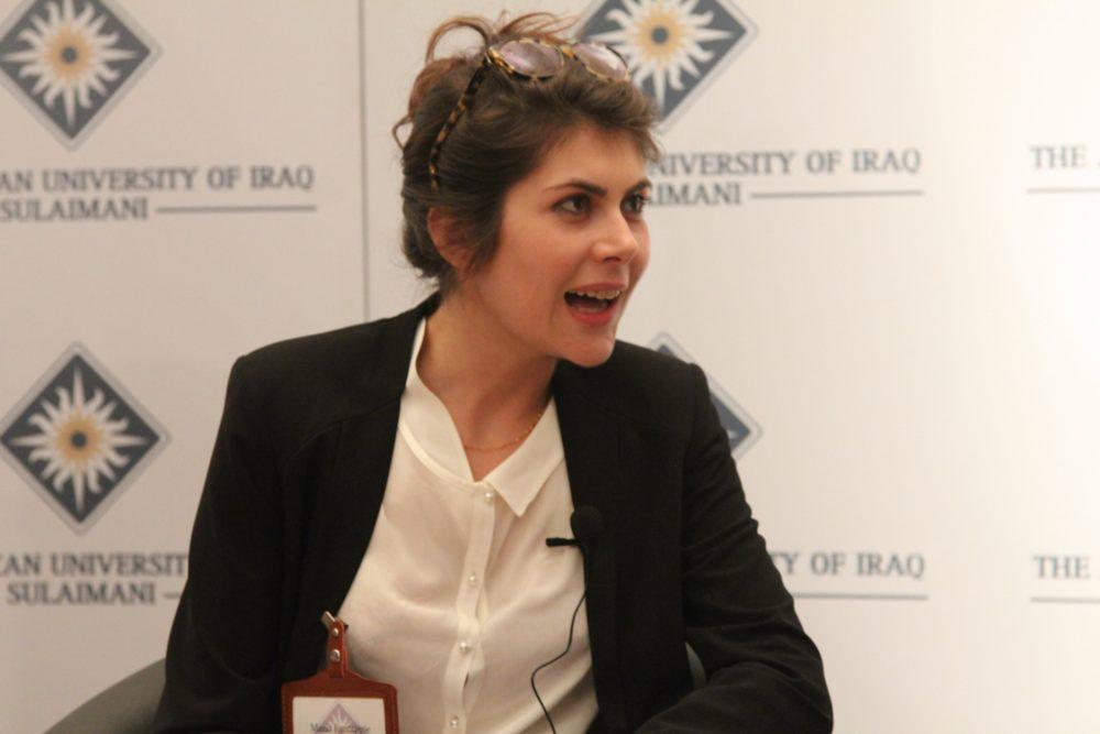زمالة قادة العراق تستضيف الدكتورة ماريا فانتابيه